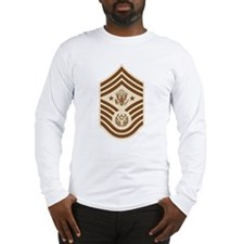 Desert Chief Master Sergeant  Long Sleeve T-Shirt