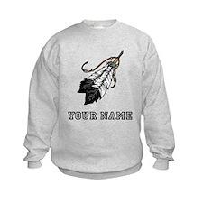 Native American Feathers (Custom) Sweatshirt