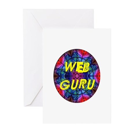 Web Guru Greeting Cards (Pk of 20)