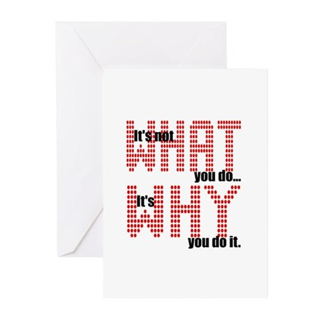 What Why Greeting Cards (Pk of 10)