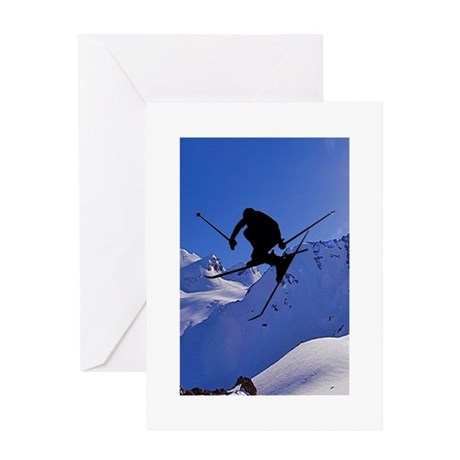 Ski Greeting Card