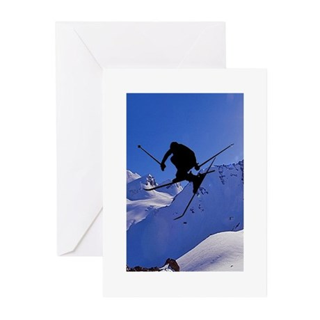 Ski Greeting Cards (Pk of 10)