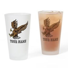 Bald Eagle (Custom) Drinking Glass