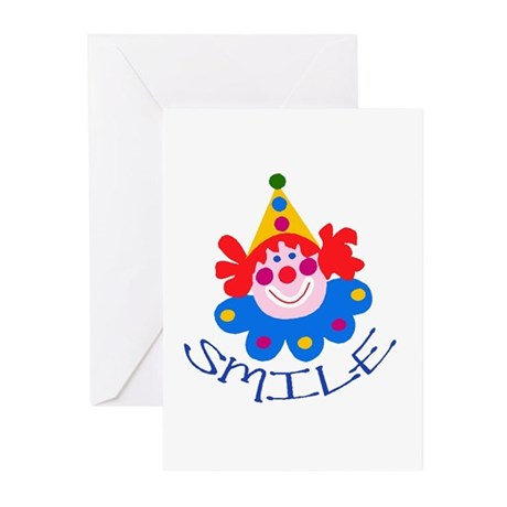 Clown Greeting Cards (Pk of 10)