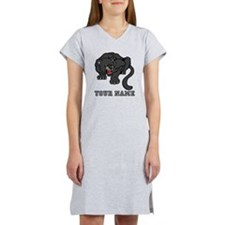 Black Panther (Custom) Women's Nightshirt