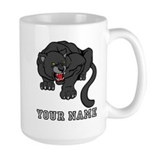 Black Panther (Custom) Mugs