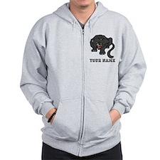 Black Panther (Custom) Zip Hoodie