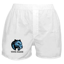 Blue Panther (Custom) Boxer Shorts