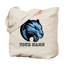 Blue Panther (Custom) Tote Bag