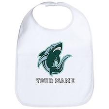 Angry Shark (Custom) Bib