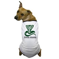 Green Cobra Snake (Custom) Dog T-Shirt