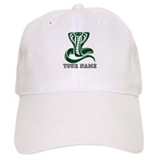 Green Cobra Snake (Custom) Baseball Baseball Cap