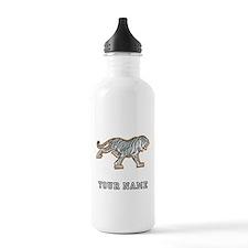 White Tiger (Custom) Water Bottle