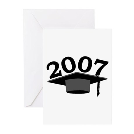 Graduation 2007 Greeting Cards (Pk of 10)