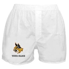 Bobcat (Custom) Boxer Shorts