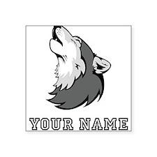 Wolf Howling (Custom) Sticker