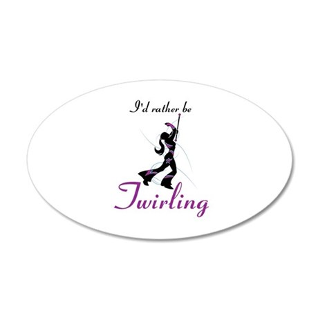 Rather Be Twirling Wall Decal