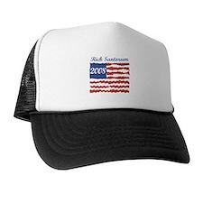 Rick Santorum (American Flag) Trucker Hat
