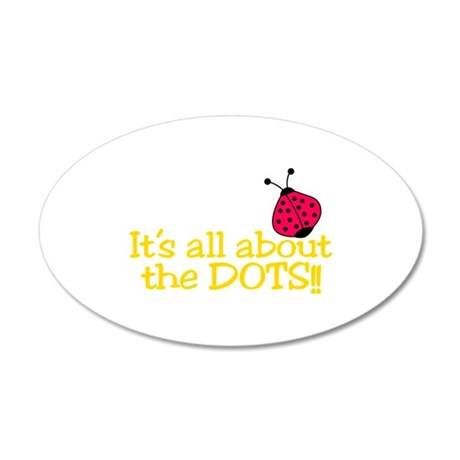 All About The Dots Wall Decal