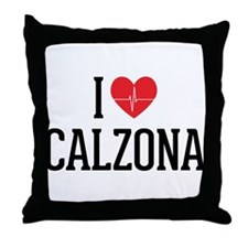 Grey's Anatomy: I Love Calzona Throw Pillow