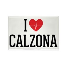 Grey's Anatomy: I Love Calzona Rectangle Magnet