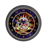 US Coast Guard Reserve Wall Clock
