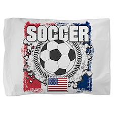 USA Soccer Pillow Sham