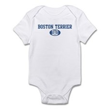 Boston Terrier dad Infant Bodysuit