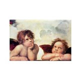 Chubby Cherubs Rectangle Magnet (10 pack)