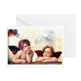 Chubby Cherubs Greeting Card