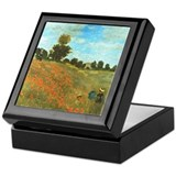 Poppies by Monet Trinket Box