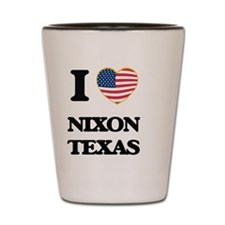 I love Nixon Texas Shot Glass