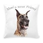 Mans Best Friend Everyday Pillow