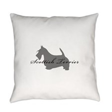 5-greysilhouette2.png Everyday Pillow