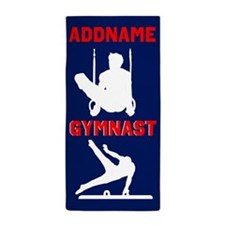 Gymnast Boy Beach Towel