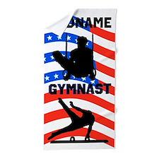 American Gymnast Beach Towel