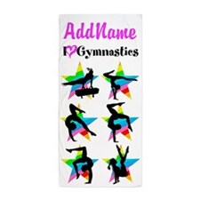 LOVE GYMNASTICS Beach Towel