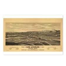 Los Angeles 1877. Postcards (Package of 8)