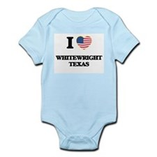 I love Whitewright Texas Body Suit
