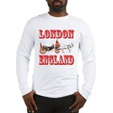 London, England Long Sleeve T-Shirt