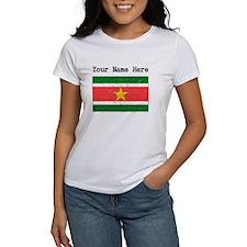 Suriname Flag (Distressed) T-Shirt