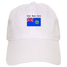 Old St Helena Flag (Distressed) Baseball Baseball Cap