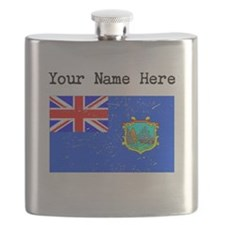 Old St Helena Flag (Distressed) Flask