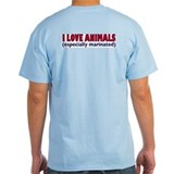 I LOVE ANIMALS ... especially marinated.