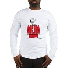 Snoopy - Mom #1 Long Sleeve T-Shirt