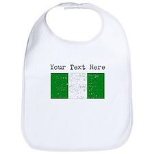 Nigeria Flag (Distressed) Bib