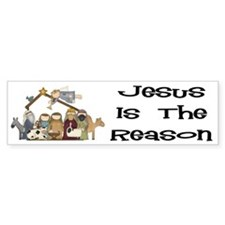 Jesus is the Reason Bumper Bumper Sticker