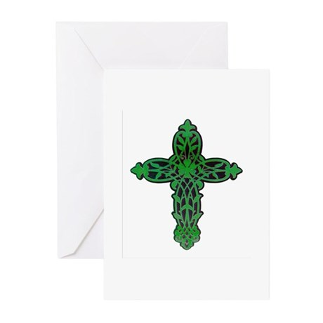 Victorian Cross Greeting Cards (Pk of 10)
