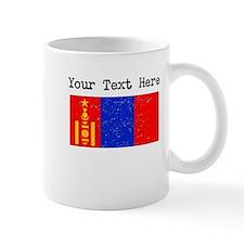 Mongolia Flag (Distressed) Mugs