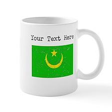 Mauritania Flag (Distressed) Mugs